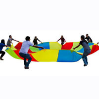 Game Toy Rainbow Parachute For Kids Development Exercise Activity Sports