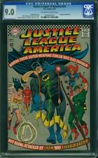 Justice League of America #53 CGC 9.0 -- 1967 -- Batman. Superman #0200542010
