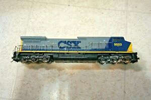 Athearn HO Train CSX  GE CW44-9 Powered Diesel Locomotive 9003