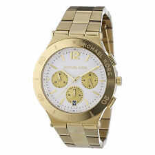 MICHAEL KORS Wyatt Chronograph Gold Tone Stainless Steel Watch MK5933 MSRP $275