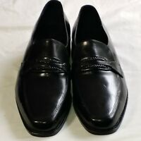 Men/'s APT 9 CHANDLER Black Loafers Slip On Casual//Office//Dress Shoes NEW
