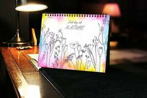 2020 Calendar Watercolor Nature with Holidays