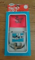 """NOS! ERNCO SEE SKI Water Skiing Float Flag Safety Device """"Never Lose Another Ski"""