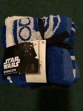 Star Wars Washcloths - 12 In By 12 Inch New - 4 Piece Set - Brand new!