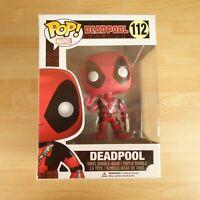 112 Funko Pop! Marvel Deadpool  Thumbs up   Bobble Head  Vinyl Figure