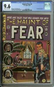 HAUNT OF FEAR #6 CGC 9.6 OW/WH PAGES // JOHNNY CRAIG COVER ART 1951