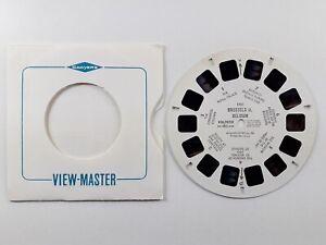Brussels II - Belgium - Vintage View-Master Single Reel Number 1951