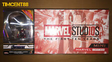 Hot Toys Iron Man Mark LXXXV (Landing Version) Cosbaby & Marvel Mini Light Box