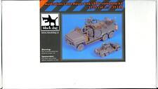 Blackdog Models 1/35 AUSTRALIAN 6x6 LRPV LAND ROVER Complete Resin Kit