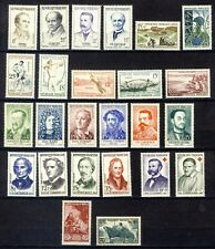 +++ LOT TIMBRES NEUFS**  G.O ANNEES  50 + DIVERS    2 SCAN