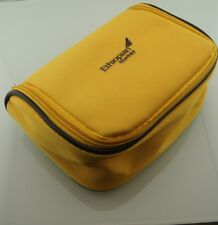 Yellow Ethiopian Airlines Business First Travel Amenity Kit Overnight Bag Case