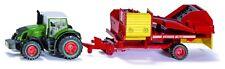 SIKU 1808, Traktor mit Kartoffelroder, 1:87, Metall + Plastik, SIKU Farmer, Neu