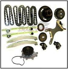 Engine Timing Chain Kit & Water Pump for Dodge Chrysler Jeep 4.7L V8 w/ JTEC
