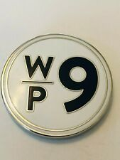 Winter Park Country Club Golf Course Navy Red Silver Golf Marker Coin Medallion
