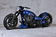 Chopper American Bike-arrastrar Estilo Pared Arte Grande cartel/Cuadro Lienzo