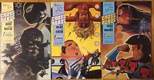Crossroads #1 3 4 (1988) First Comics Badger