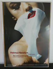 Helmut Newton Poster Sex and Landscape