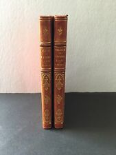 *Alice in Wonderland & Through the Looking Glass* 2 Volumes in LEATHER BINDINGS