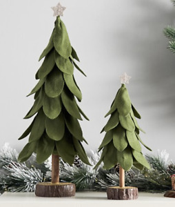 POTTERY BARN KIDS Medium Green Felt Christmas Tree Decor Sold Out NEW