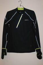 Craft Elite Run Wind Men's Jersey LARGE  Black/Scream 1902938  NEW