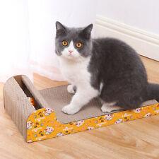Pet Dog Cat Kitten Corrugated cat Scratch Board Pad Scratcher Bed Mat Claws Care