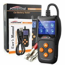 KW600 12V Car Battery Tester Analyzer Up To 2000CCA SOH mΩ Cranking Alternator