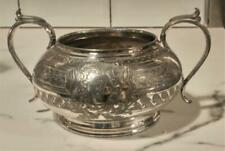 Fine Antique James Dixon Silver Plated Two Handled Sugar Bowl C 1860+