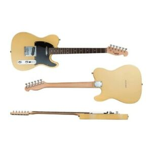 Indio Retro Classic Electric Guitar with Gig Bag - Blonde