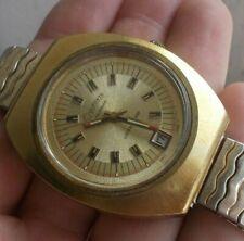 RARE Vintage Men's Lucien Piccard Dufonte EARLY Watch Wristwatch Swiss Swissonic