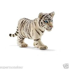 GERMANY SCHLEICH WORLD OF NATURE MODEL SH14732 (NEW) BABY TIGER WHITE