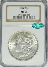 1902 Morgan Dollar NGC MS64 CAC