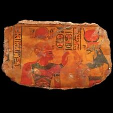 LARGE ANCIENT EGYPTIAN HIEROGLYHIC STYLE PLAQUE (3)