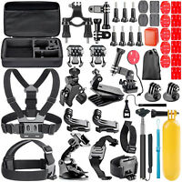 GoPro Hero 7 White Accessories Kit For GoPro Hero 7 6 5 Black Silver Camera Case