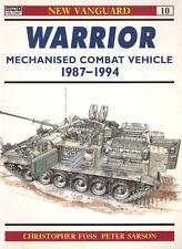 OSPREY NEW VANGUARD 10 BRITISH WARRIOR MECHANIZED COMBAT VEHICLE 1987-94 DESERT