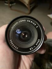 Nikon Camera Lens Series E 28mm 1:2.8 AI-s (Nikon F mount) As-is Fungus