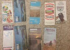 Lot of Vintage Road Maps Conoco Skelly Phillips 66 Mobil Gas Minnesota, NE IA #6