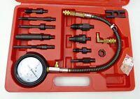 12pc Diesel Engine Compression Test Kit Universal Car Van Tool Set