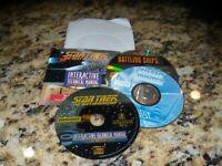 Lot of 3 PC Games: Silent Hunter, Battling Ships & Interactive Technical Manual