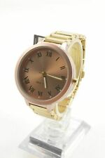 Nine West NW2310 Taupe Dial Rose Gold Tone Stainless Steel Bracelet Ladies Watch