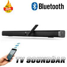 40 Vatios Barra de Sonido Bluetooth, Subwoofer Inalámbrico,AUX USB TF para TV,PC
