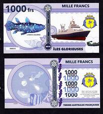 ILES GLORIEUSES ● TAAF / COLONIE ● BILLET POLYMER 1000 FRANCS ★ N.SERIE 000010
