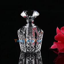 Antiques Collection Here Antique Cut Glass Cologne Bottle Floral Cut Large Decorative Arts
