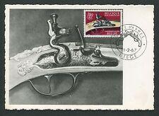 Belgio MK 1967 armi pistole Pistols maximum carta carte MAXIMUM CARD MC d7397