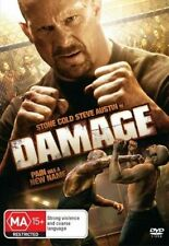 *BRAND NEW & SEALED* Damage (DVD, 2009) Action Movie Stone Cold Steve Austin