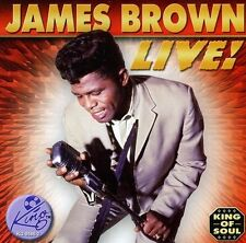Live! by James Brown (R&B) (CD, Sep-2005, King) Free Shipping!