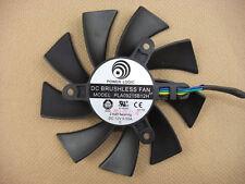 87mm VGA Video Card Fan For GTX460 550 TI Radeon HD6850 CYCLONE PLA09215B12H 197