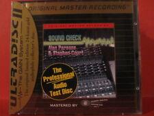 "MFSL-SPCD 15 ALAN PARSONS ""SOUND CHECK "" (USA / GOLD-CD / FACTORY SEALED !!!!!)"