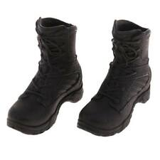 1/6 Woman Military Shoes Combat Boots for 12 Inch Soldier Body Action Figure