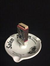 Salem Aleikum Cigaretten - Aschenbecher mit Fabrikansicht Dresden  -  Rarität