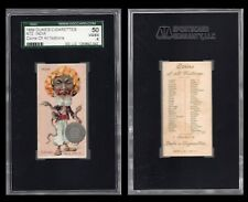 """1889 N72 DUKE COINS OF ALL NATIONS  """" INDIA   """"     SGC 50   /1972"""